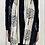 Thumbnail: Black/ Beige Soft Tree Scarf
