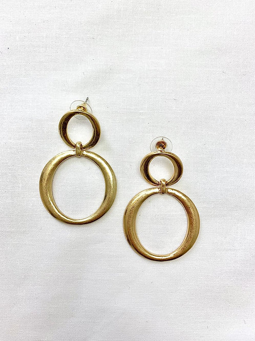 Gold Double Circle