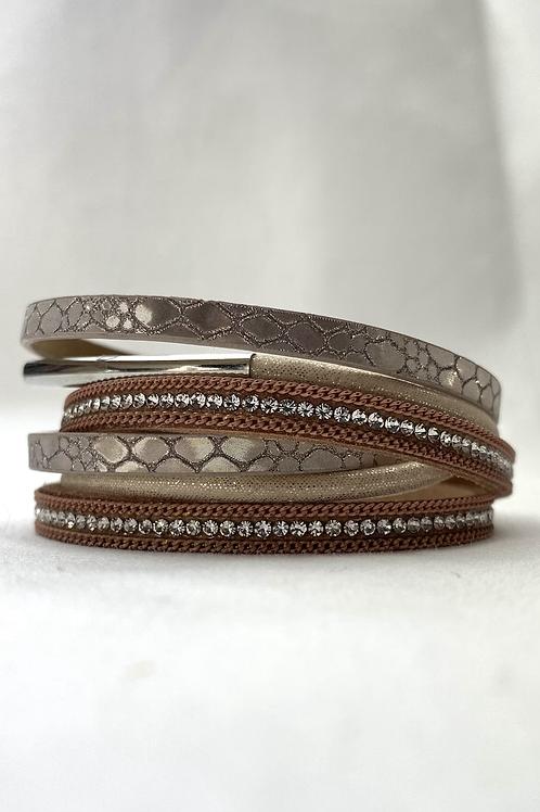 Beige Layer Bracelet