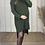 Thumbnail: Chunky Knit Roll Neck Dress/Tunic