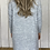 Thumbnail: Diamond Knit Jumper Dress Roll-Neck