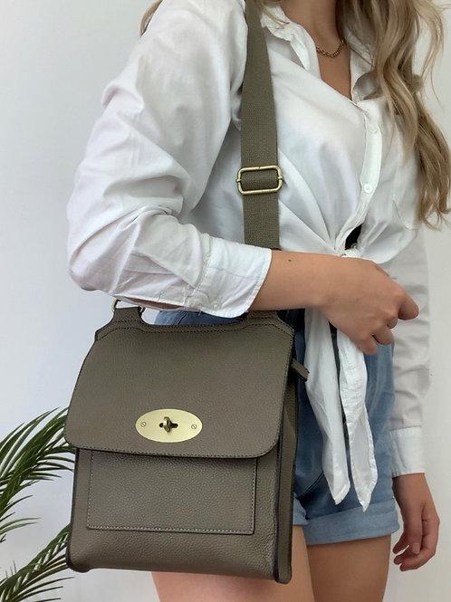 Kahki Messenger Bag