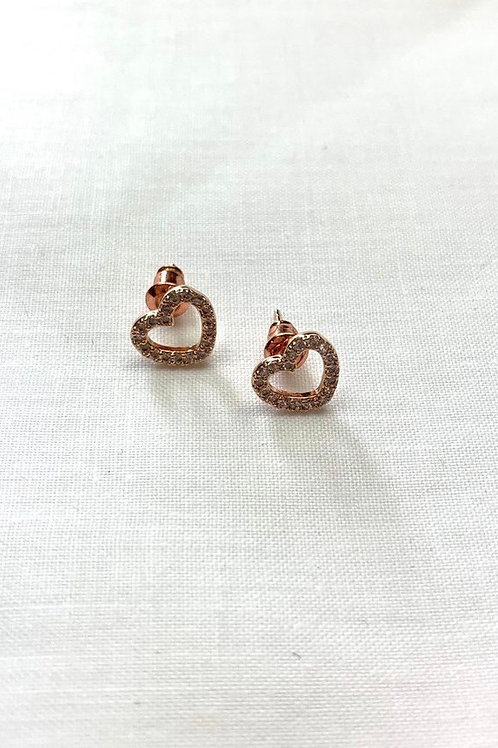 Rose Gold Hearts