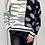 Thumbnail: Half Spotted Zebra Knitted Jumper