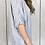 Thumbnail: Linen Stripey Colette Top