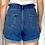 Thumbnail: High Waisted Denim Shorts