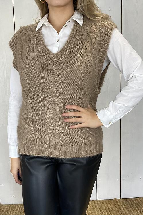 Knitted Jumper Vest