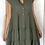 Thumbnail: Button Down Tiered Linen Dress