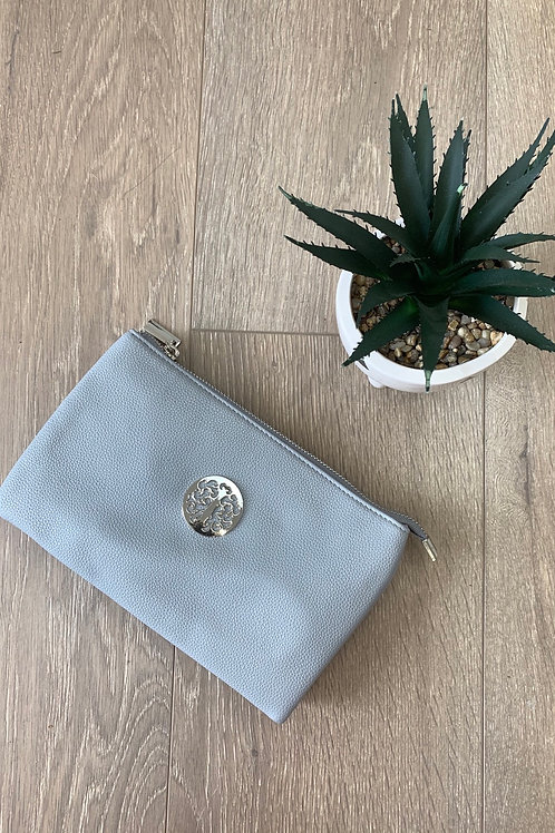Grey Silver Disc Clutch