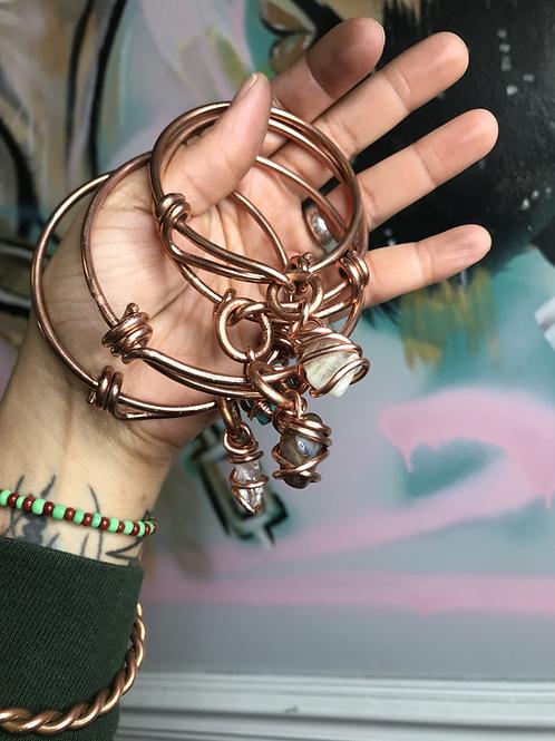Copper Charm Bracelet