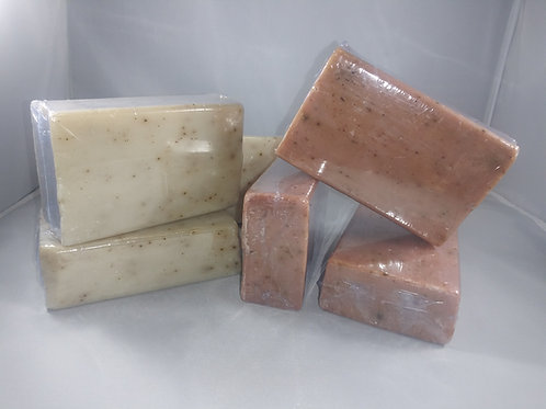 All Natural Exfoliating Bar Soap