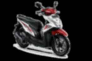 motor honda BeAT eSP putih merah 2016 ma