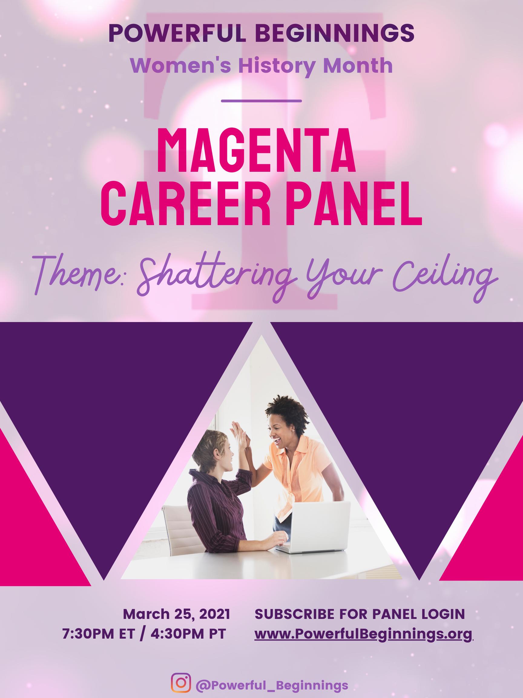 Magenta Career Panel