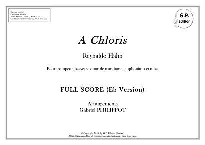 A Chloris_Couverture Paysage full score