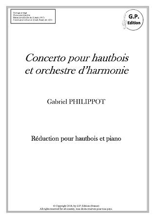 Concerto pour hautbois_Couverture Reduc
