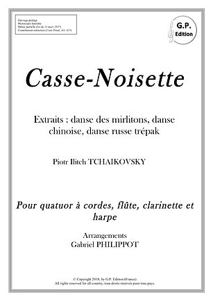 Tchaikosvky - casse noisette pour septuo