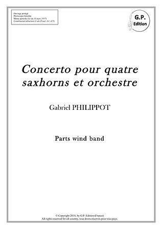 Concerto pour 4 saxhorns_Couverture Part