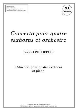 Concerto pour 4 saxhorns_Couverture Redu