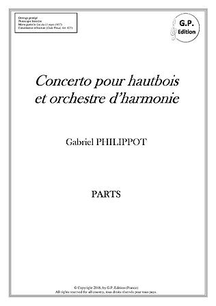 Concerto pour hautbois_Couverture Parts.
