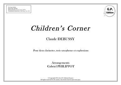 Debussy - Children's Corner pour saxback