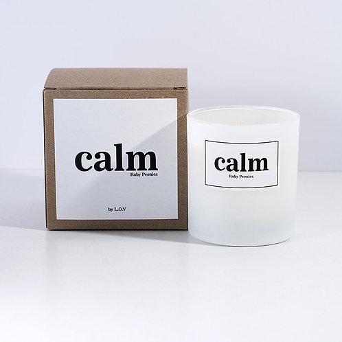"""VELA EMOTIONS """"Calm"""" L.O.V Indie Candles"""