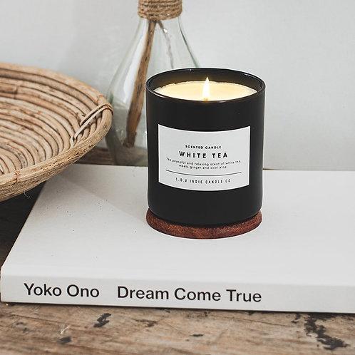 """VELA SANTA MONICA """"WHITE TEA"""" L.O.V Indie Candles"""