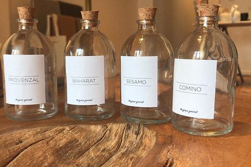 Envases de Vidrio para Especias