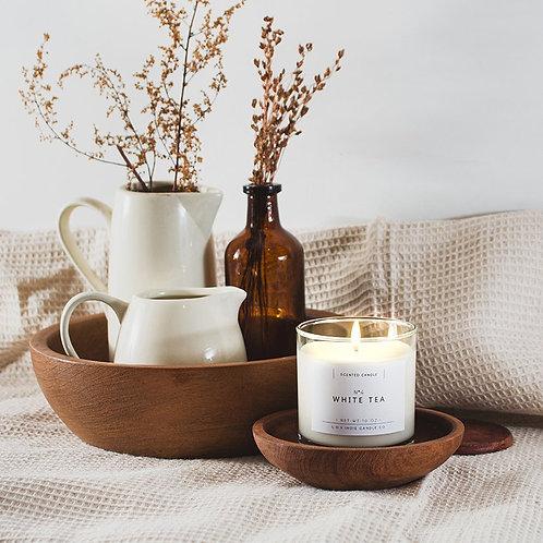 "VELA ALL NATURAL ""White Tea"" L.O.V Indie Candles"