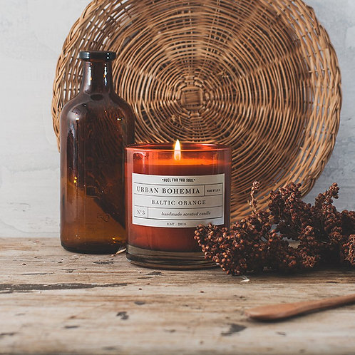 "VELA URBAN BOHEMIA ""Baltic Orange"" L.O.V Indie Candles"