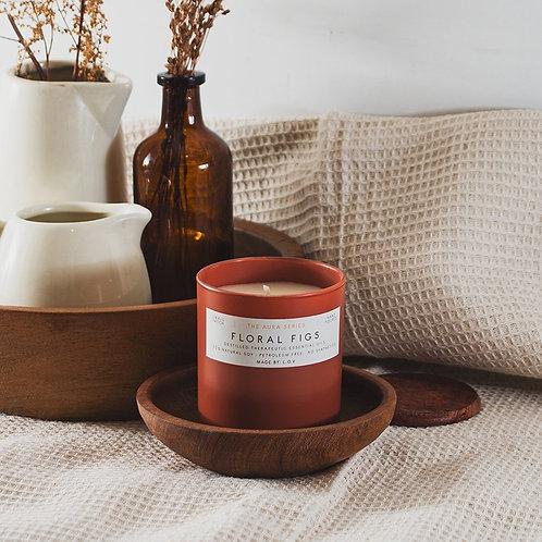 """VELA AURA """"Floral Figs"""" L.O.V Indie Candles"""