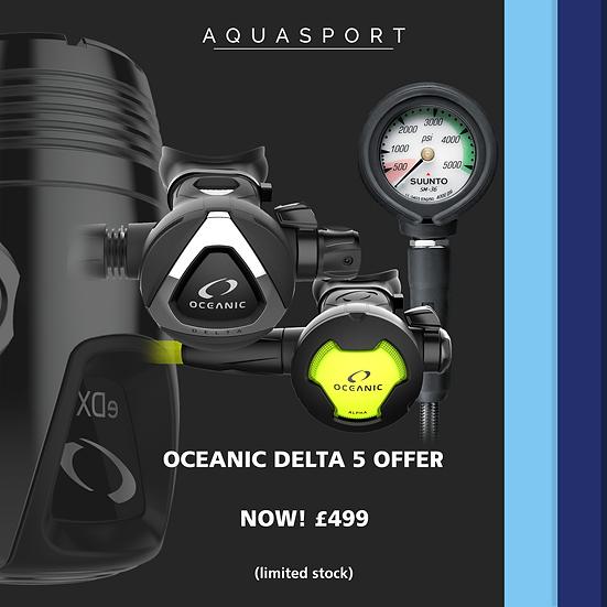 Oceanic Delta 5 EDX Regulator Offer