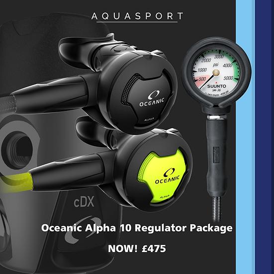 Oceanic Alpha 10 Regulator Deal