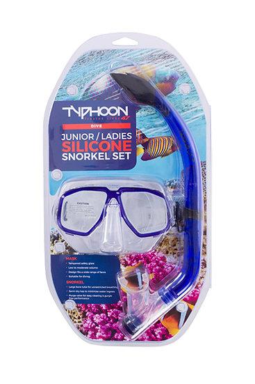 Typhoon Junior / Ladies Pro Snorkelling Set