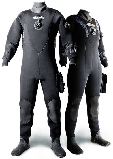 O'Three MSF500 Technical Black Flex Women's Drysuit