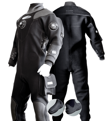 O'Three Ri 2-100 Men's Drysuit