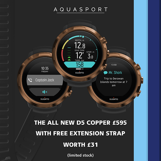 Suunto D5 Copper Dive Computer