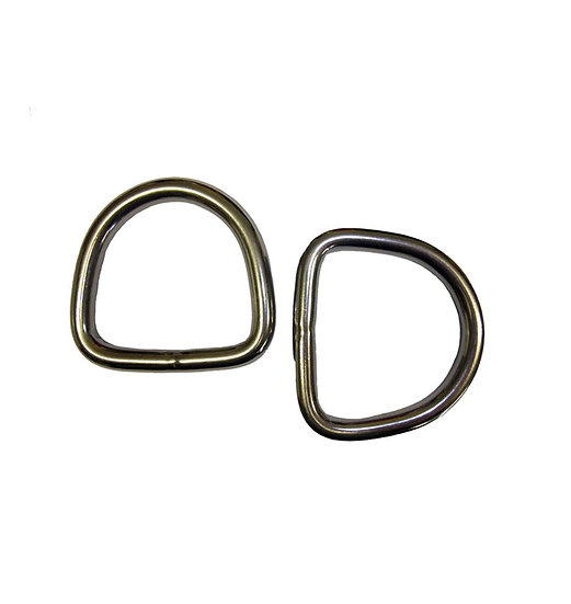 Stainless Steel Welded D Ring
