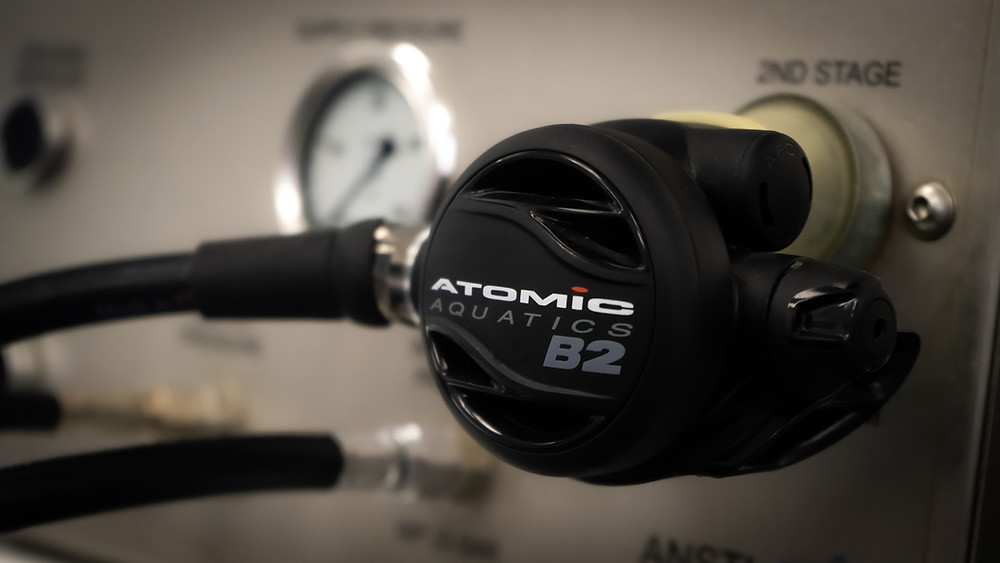 This is an Atomic B2 regulator on our onsite ANSTI surface test facility.