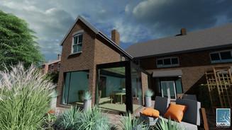 Glass Side Extension, Wolverhampton