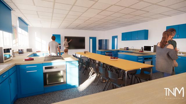 Food tech facilities Birmingham Schools