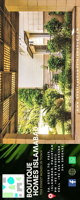 Brochure Boutique Homes Islamabad