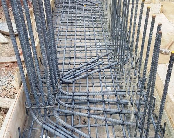 Column Foundation Steel Fixing