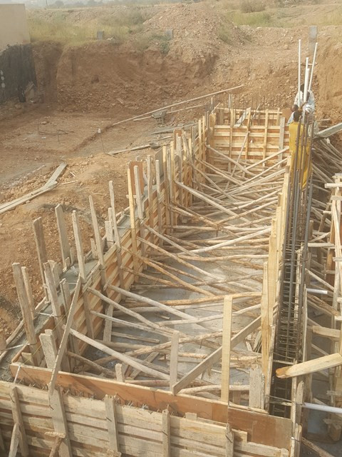Shuttering for Swiming Pool