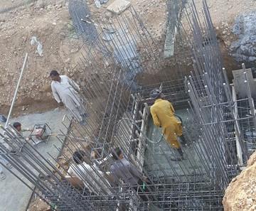 Concreting of Water Tanks