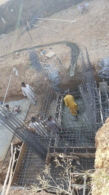 Concreting of Water Tanks