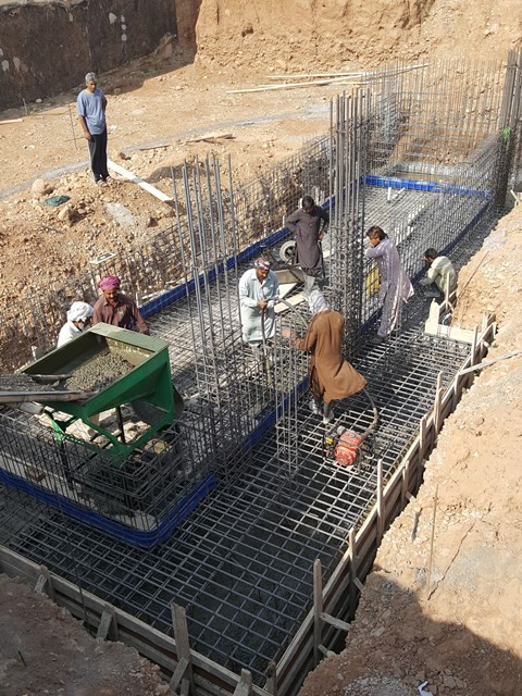 Concreting for Swiming Pool