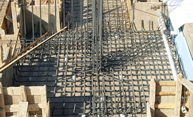 Foulumn Foundation Steel Fixing