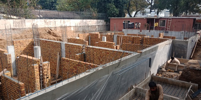 Basement Brick and Retaining walls