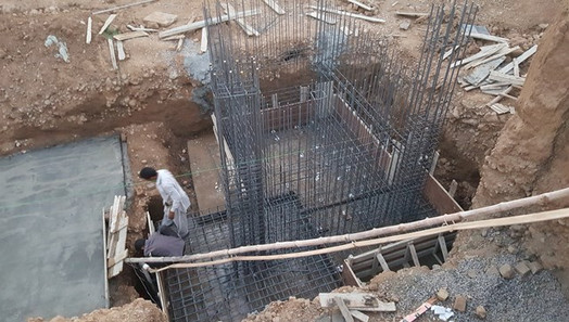 Steel Fixing for Water Tanks