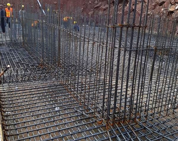 Column - Raft - Retaining Wall